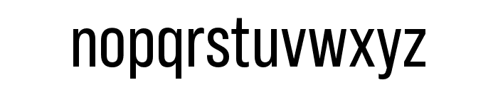 Bebas Neue Pro Expanded Regular Font LOWERCASE