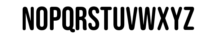 Bebas Neue Rounded Regular Font UPPERCASE