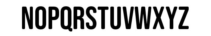 Bebas Neue SemiRounded Regular Font UPPERCASE