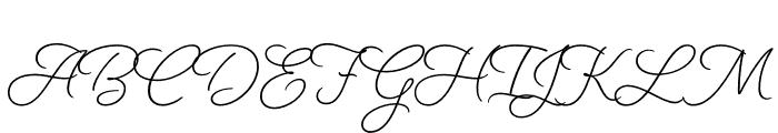 Beloved Sans Bold Font UPPERCASE