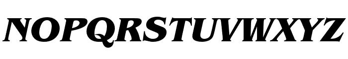 Benguiat Pro ITC Bold Condensed Italic Font UPPERCASE