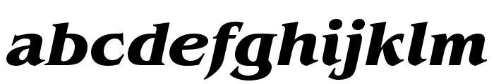 Benguiat Pro ITC Bold Condensed Italic Font LOWERCASE