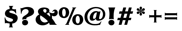 Benguiat Pro ITC Bold Condensed Font OTHER CHARS