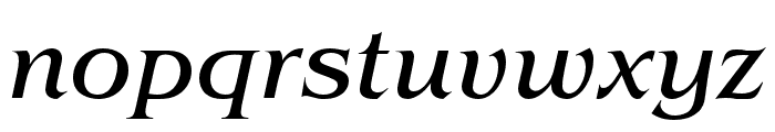 Benguiat Pro ITC Book Condensed Italic Font LOWERCASE