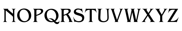 Benguiat Pro ITC Book Condensed Font UPPERCASE