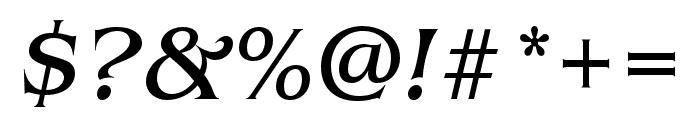 Benguiat Pro ITC Book Italic Font OTHER CHARS
