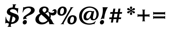 Benguiat Pro ITC Medium Condensed Italic Font OTHER CHARS