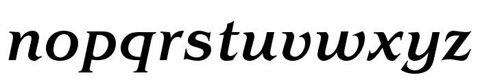 Benguiat Pro ITC Medium Condensed Italic Font LOWERCASE