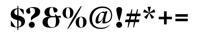 Bennet Banner Black Font OTHER CHARS