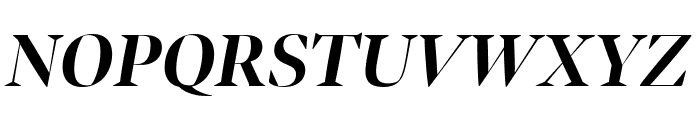 Bennet Banner Bold Italic Font UPPERCASE