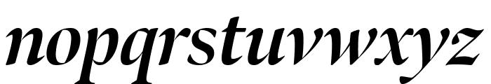 Bennet Banner Bold Italic Font LOWERCASE