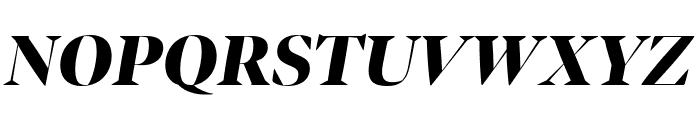 Bennet Banner Condensed Black Italic Font UPPERCASE