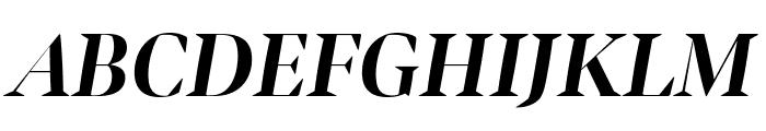 Bennet Banner Condensed Bold Italic Font UPPERCASE