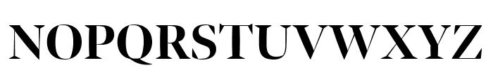 Bennet Banner Condensed Bold Font UPPERCASE