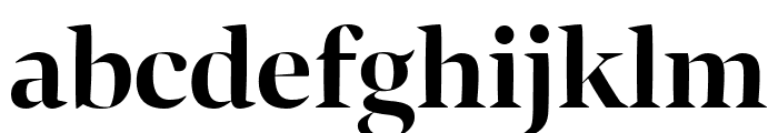 Bennet Banner Condensed Bold Font LOWERCASE