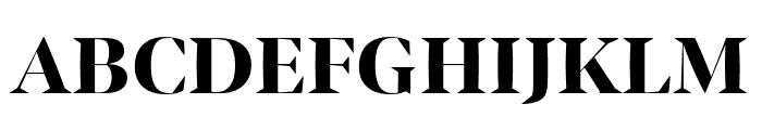 Bennet Banner Condensed Extra Bold Font UPPERCASE