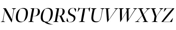 Bennet Banner Condensed Italic Font UPPERCASE