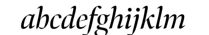 Bennet Banner Condensed Italic Font LOWERCASE
