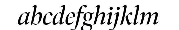 Bennet Banner Italic Font LOWERCASE