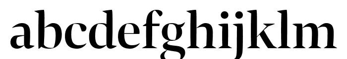 Bennet Banner Semi Bold Font LOWERCASE