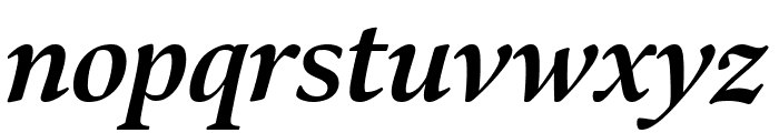 Bennet Display Bold Italic Font LOWERCASE