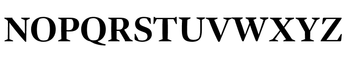 Bennet Display Condensed Bold Font UPPERCASE
