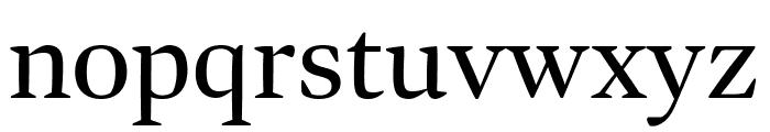 Bennet Display Condensed Regular Font LOWERCASE