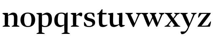 Bennet Display Condensed Semi Bold Font LOWERCASE