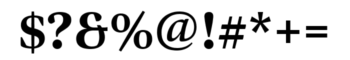 Bennet Display Extra Condensed Extra Bold Font OTHER CHARS