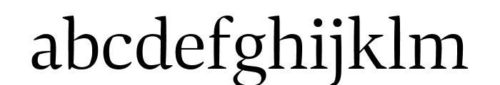 Bennet Display Extra Condensed Light Font LOWERCASE