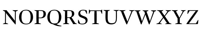 Bennet Display Extra Condensed Regular Font UPPERCASE