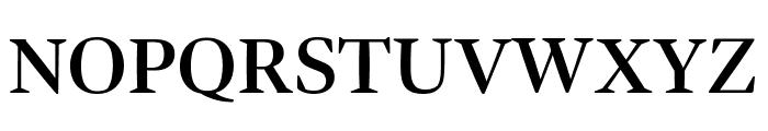 Bennet Display Semi Bold Font UPPERCASE