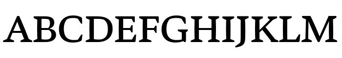 Bennet Text Four Regular Font UPPERCASE