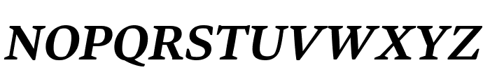 Bennet Text Four Semi Bold Italic Font UPPERCASE