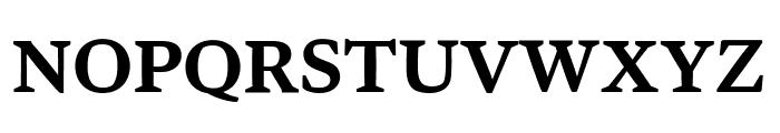 Bennet Text One Semi Bold Font UPPERCASE