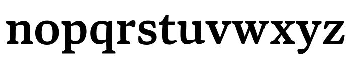 Bennet Text Three Semi Bold Font LOWERCASE