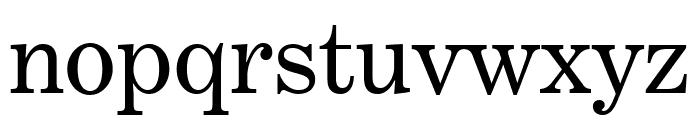 Benton Modern Roman Font LOWERCASE