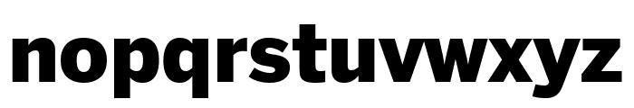 Benton Sans Black Font LOWERCASE