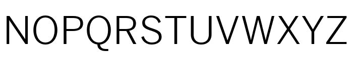 Benton Sans Book Font UPPERCASE