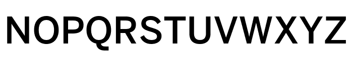 Benton Sans Extra Compressed Medium Font UPPERCASE