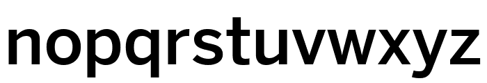 Benton Sans Extra Compressed Medium Font LOWERCASE