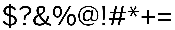 Benton Sans Extra Compressed Regular Font OTHER CHARS