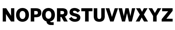 Benton Sans Wide Black Font UPPERCASE