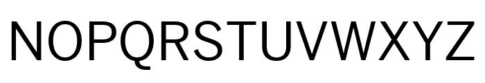 Benton Sans Wide Regular Font UPPERCASE