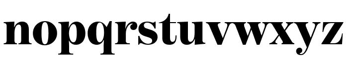 BentonModDisp Black Font LOWERCASE
