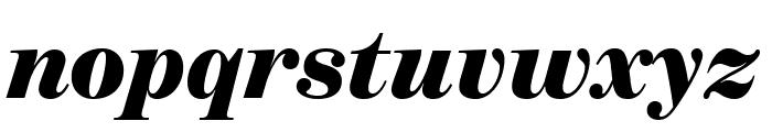 BentonModDisp UltraItalic Font LOWERCASE