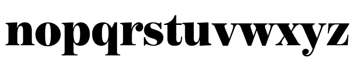 BentonModDisp Ultra Font LOWERCASE