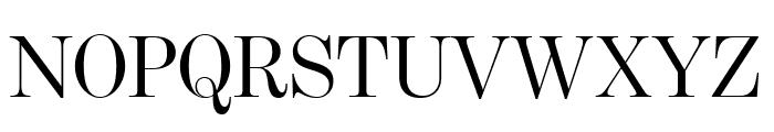 BentonModDispComp Regular Font UPPERCASE