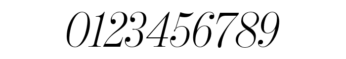BentonModDispCond LightItalic Font OTHER CHARS
