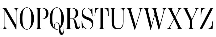 BentonModDispExCond Regular Font UPPERCASE